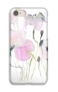 Lyserøde blomster cover IPhone 8