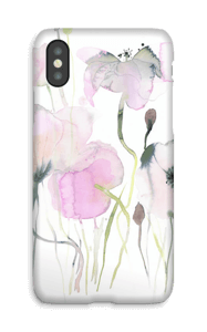 Wild blooming flowers case IPhone X