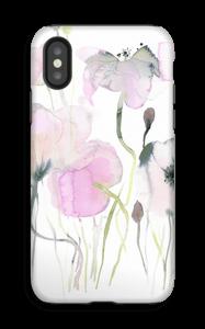 Vesiväri kukkaset kuoret IPhone X tough