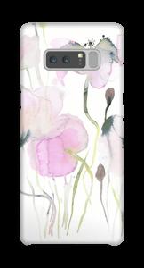 Rosa poppande skal Galaxy Note8