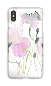 Rosa blomster deksel IPhone XS Max