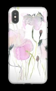 Vesiväri kukkaset kuoret IPhone XS Max tough