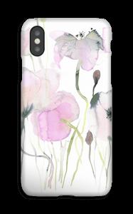 Rosa blomster deksel IPhone XS