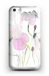 Painted Pink Flowers case IPhone 5c