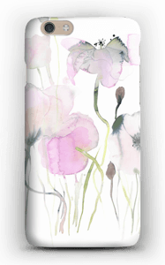 Painted Pink Flowers case IPhone 6