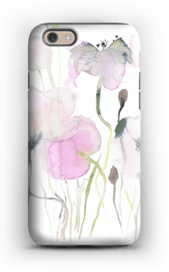 Vesiväri kukkaset kuoret IPhone 6s tough