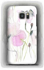 Vesiväri kukkaset kuoret Galaxy S7