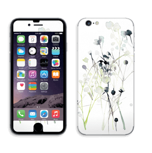 Painted Winter Flowers  Skin IPhone 6/6s