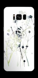 Fleurs d'hiver Skin Galaxy S8
