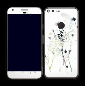 Fleurs d'hiver Skin Pixel XL