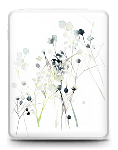 Fleurs d'hiver Skin IPad 1