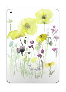 Vilde blomster Skin IPad 2017