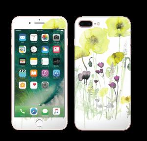 Vilde blomster Skin IPhone 7 Plus