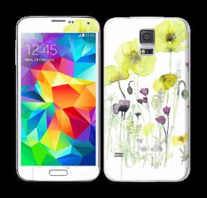 Vilde blomster Skin Galaxy S5