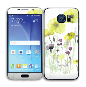Vilde blomster Skin Galaxy S6