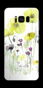 Vilda blommor Skin Galaxy S8
