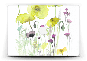 Painted Yellow Flowers Skin MacBook Air 13""