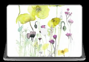 """Painted Yellow Flowers Skin MacBook Pro Retina 15"""" 2015"""