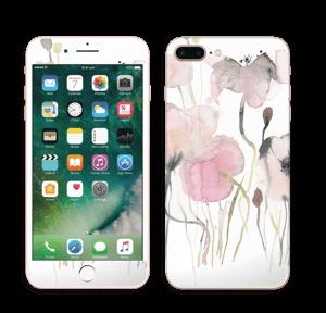 Lyserøde blomster Skin IPhone 7 Plus