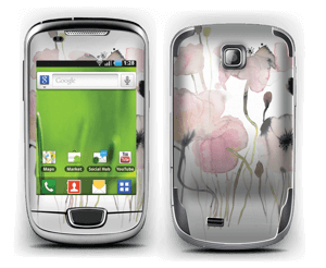 wild blooming flowers Skin Galaxy Mini