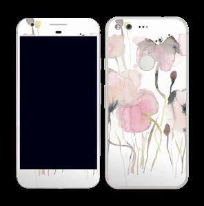 Lyserøde blomster Skin Pixel