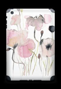 Painted Pink Flowers Skin IPad mini 2 back