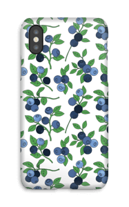 Blåbærskogen deksel IPhone X