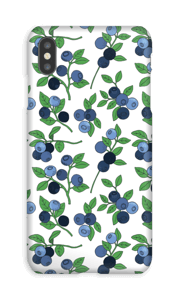 Blueberries case IPhone XS Max