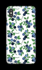 Blåbærskogen deksel IPhone XS Max