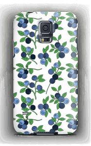 Mustikat kuoret Galaxy S5