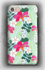 Tropiska blommor skal IPhone 7