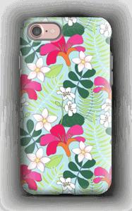 Tropiikin kasvit kuoret IPhone 7 tough