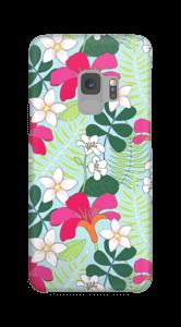 Tropische Blumen Handyhülle Galaxy S9