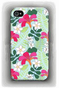 Tropiikin kasvit kuoret IPhone 4/4s