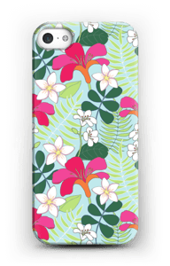 Tropical Flowers case IPhone 5/5S