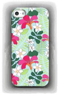 Tropiikin kasvit kuoret IPhone 5/5S