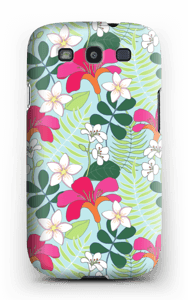 Tropiikin kasvit kuoret Galaxy S3