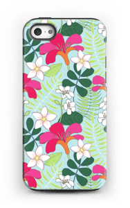 Tropiska blommor skal IPhone 5/5s tough