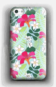 Tropiikin kasvit kuoret IPhone 5c