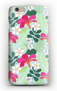 Tropical Flowers case IPhone 6