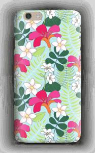Tropiikin kasvit kuoret IPhone 6