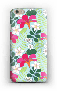 Tropical Flowers case IPhone 6 Plus