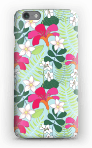 Tropical Flowers case IPhone 6s