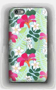 Tropiska blommor skal IPhone 6s Plus tough