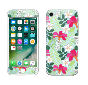 Tropiske blomster Skin IPhone 7
