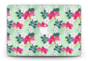 "Tropische Blumen Skin MacBook Pro Retina 13"" 2015"