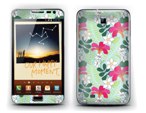 Tropical Flowers Skin Galaxy Note