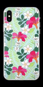 Fiori tropicali Skin IPhone X