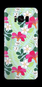 Tropical Flowers  Skin Galaxy S8