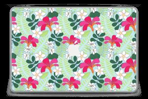 """Tropical Flowers Skin MacBook Pro 15"""" -2015"""